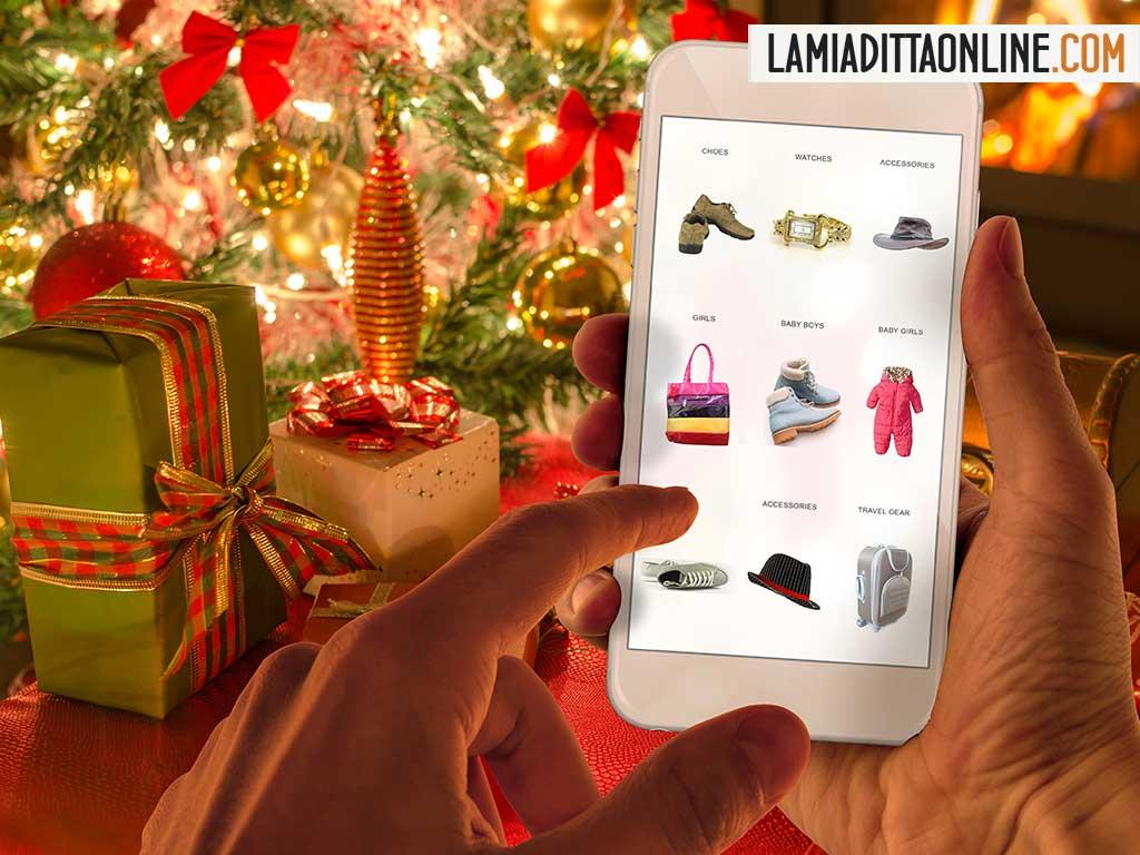 e-commerce: i regali di natale si fanno online