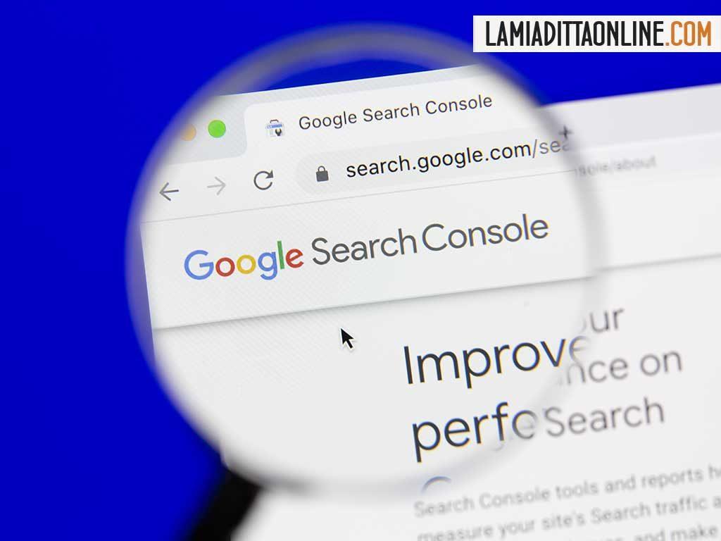 Google Search Console invia messaggi errati